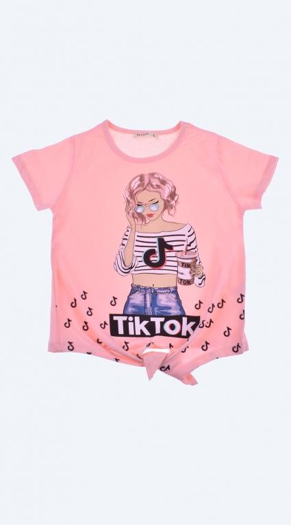 Детска Тениска момиче - Tik-Tok