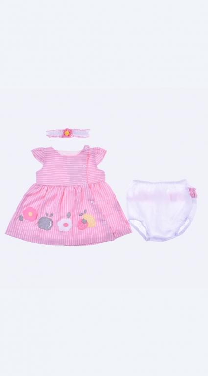 Бебешки Комплект къс ръкав момиче - Baby Girl