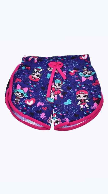 Детски Къси панталонки момиче - LOL