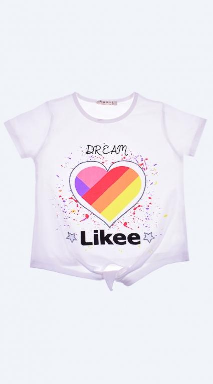 Тениска момиче - Tik-Tok Likee