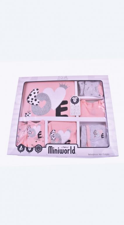 Бебешки Комплект за изписване 10 части момиче - Baby Girl