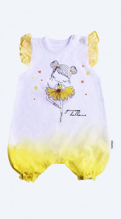 Детски Гащеризон къс ръкав момиче Baby Girl