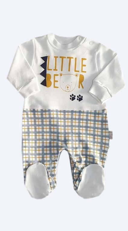 Бебешки Гащеризон дълъг ръкав за момче - Baby Boy