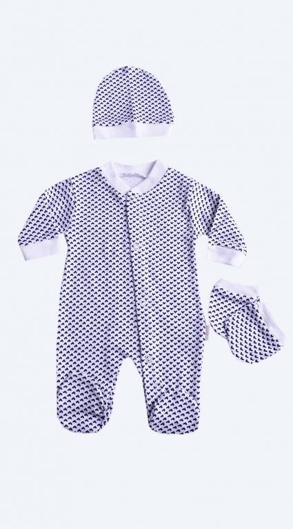 Бебешки Гащеризон дълъг ръкав за момиче - Baby Girl