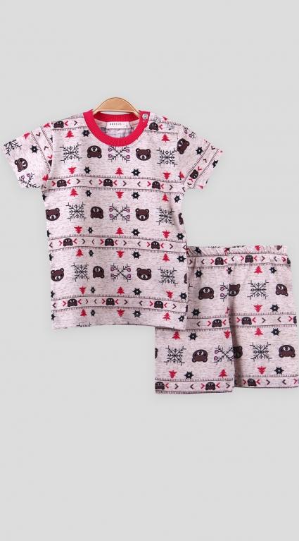 Детска Пижама къс ръкав