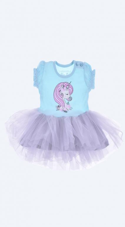 Бебешка Рокля къс ръкав Pony