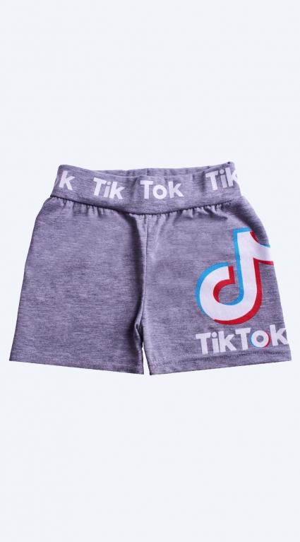Детски Къси панталонки момиче - Tik-Tok Likee