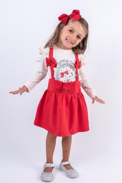 Бебешки Комплект дълъг ръкав момиче