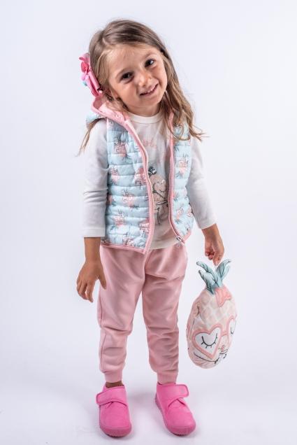 Бебешки Комплект момиче 4 части дълъг ръкав