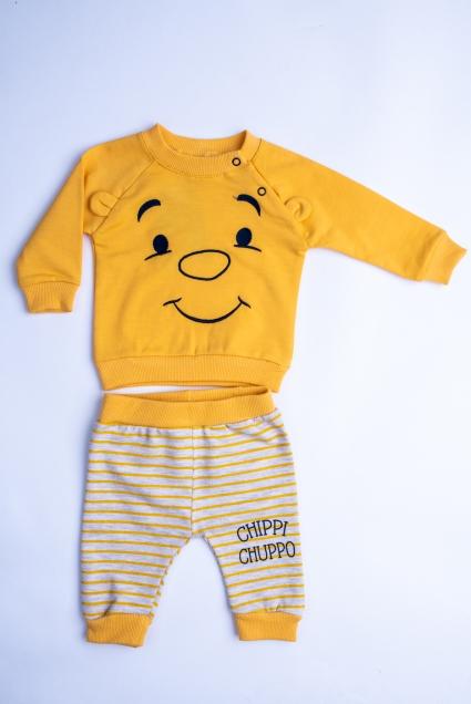 Комплект бебе момче дълъг ръкав