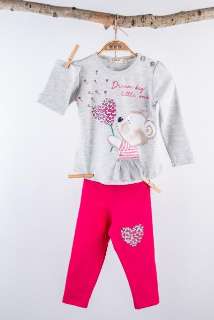 Детски Комплект момиче дълъг ръкав