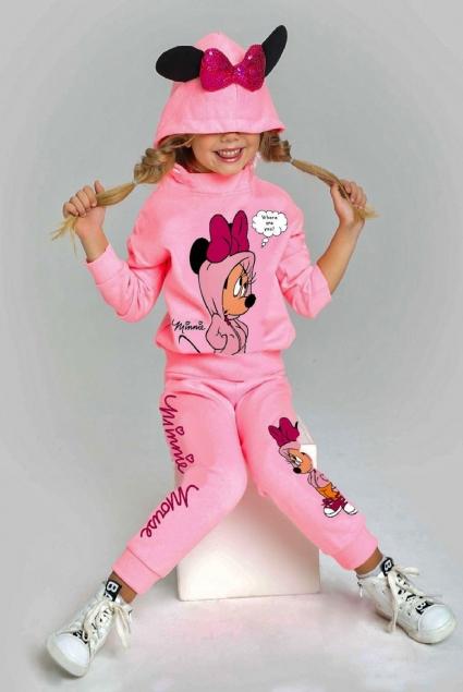 Детски Комплект момиче дълъг ръкав Mickey Mouse