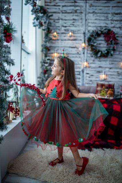 Детска Рокля Коледа