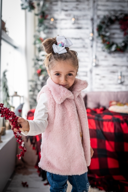 Детски Елек момиче Коледа