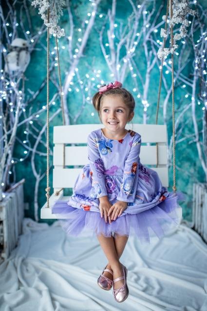 Детска Рокля Принцеса София