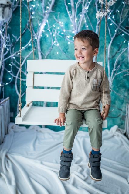 Детски Пуловер момче Коледа