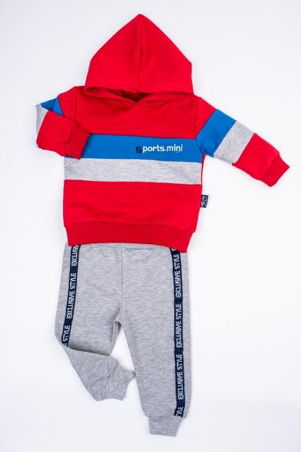 Бебешки Комплект момче дълъг ръкав