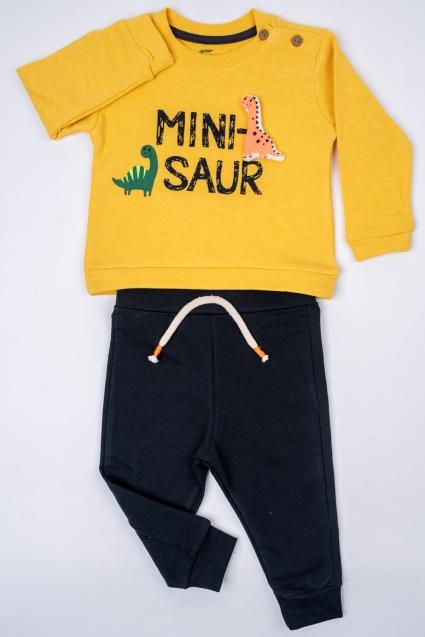 Бебешки Комплект момче дълъг ръкав лека вата