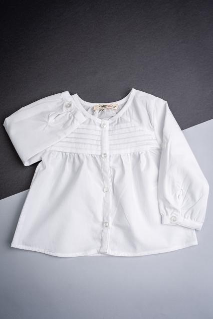 Детска Риза момиче дълъг ръкав