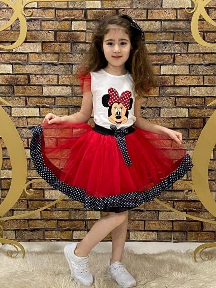 Детски Комплект момиче къс ръкав Мини Маус