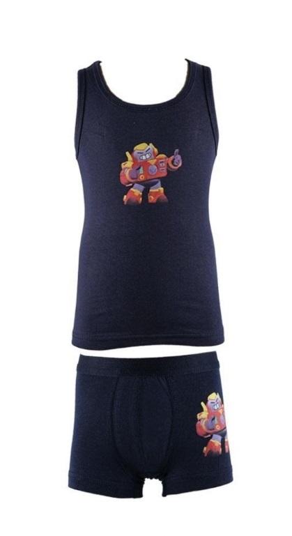 Детски Комплект потник с боксер момче