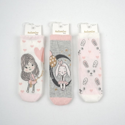 Детски Чорапи момиче 3 броя