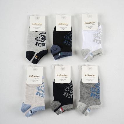 Детски Чорапи момче 6 броя