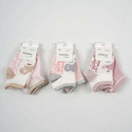 Бебешки Чорапи момиче 6 броя