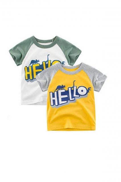 Бебешка Тениска момче 2 броя
