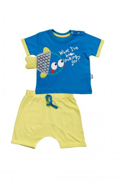 Бебешки Комплект момче къс ръкав