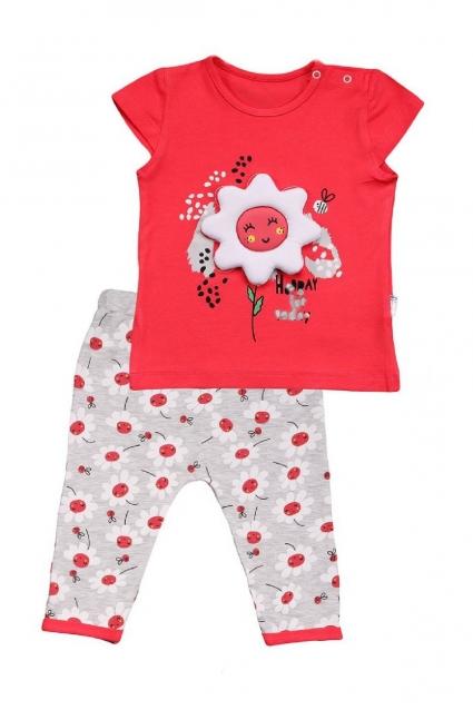 Бебешки Комплект момиче къс ръкав