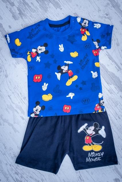 Детски Комплект момче къс ръкав Мики Маус