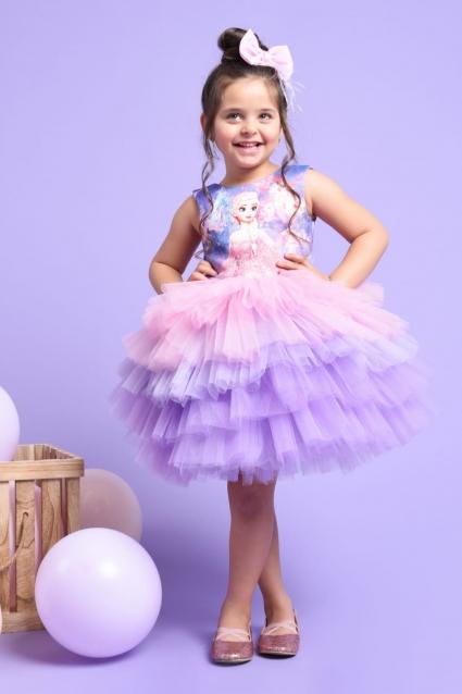 Детска Официална рокля Елза