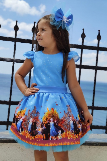 Детска Официална рокля Frozen