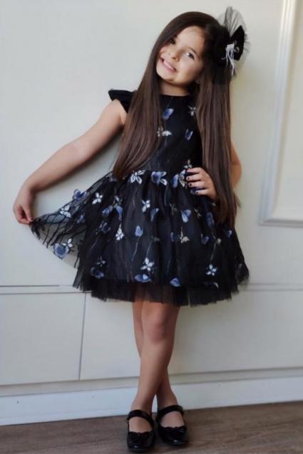 Детска Официална рокля Пеперуди