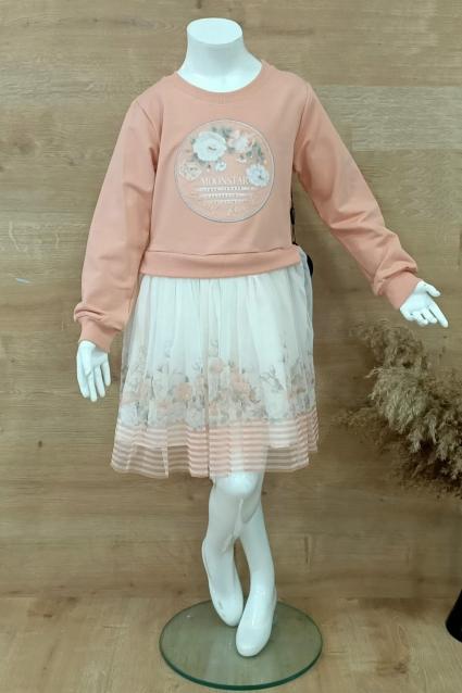 Детска Рокля дълъг ръкав