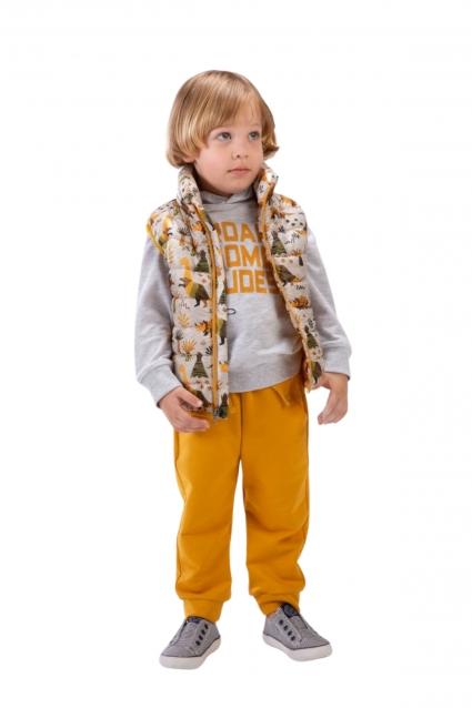 Детски Комплект момче дълъг ръкав 3 части