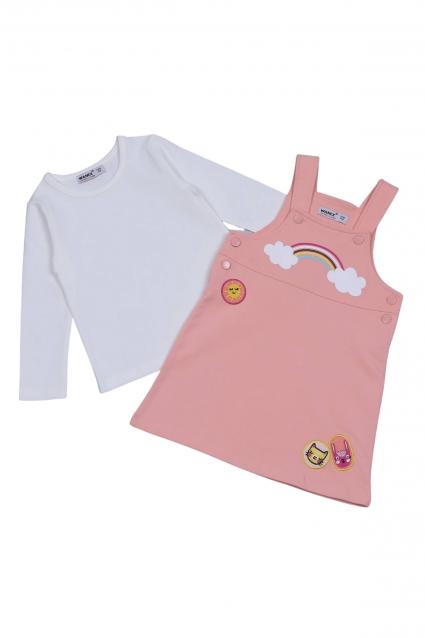 Бебешки Сукман с блуза дълъг ръкав