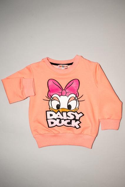 Детска Блуза момиче дълъг ръкав Daisy Duck
