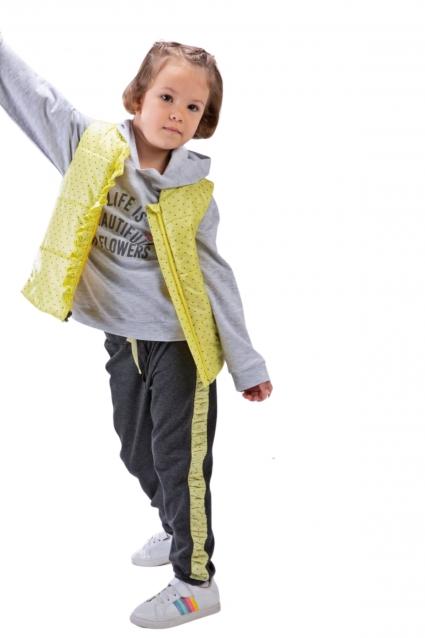 Детски Комплект момиче дълъг ръкав 3 части