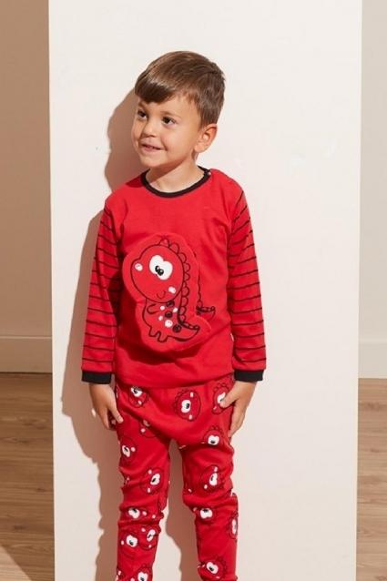Детска Пижама момче дълъг ръкав